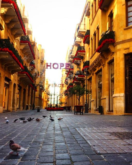 ميلادك زينة اعيادنا goodmorning beirut downtown morningwalk ...