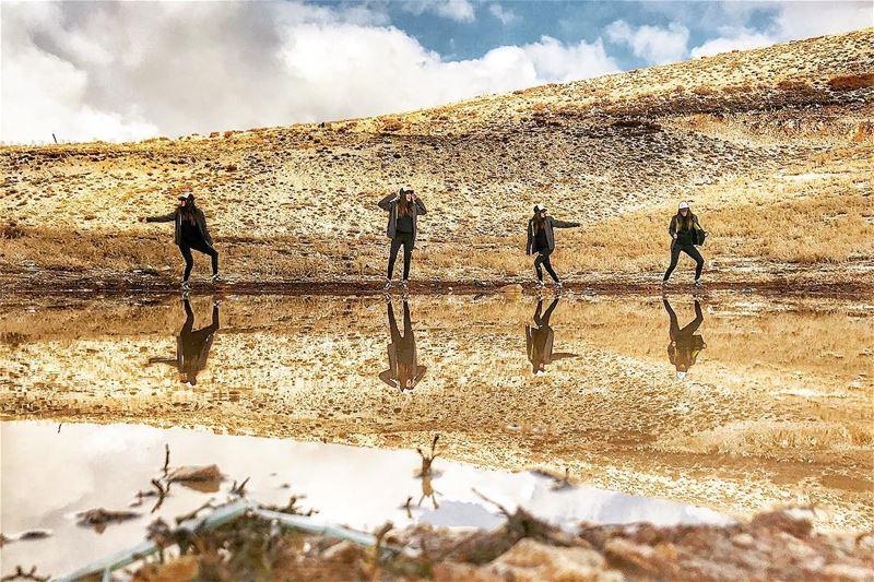 Taking over the lake! mzaar lebanon... earthpix earthofficial ... (Mzaar Kfardebian)
