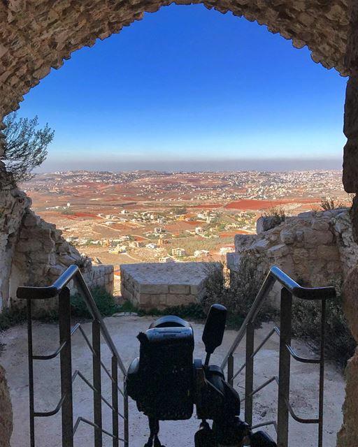 instagood like4like love beautiful travel adventure landscape ... (Beaufort Castle, Lebanon)