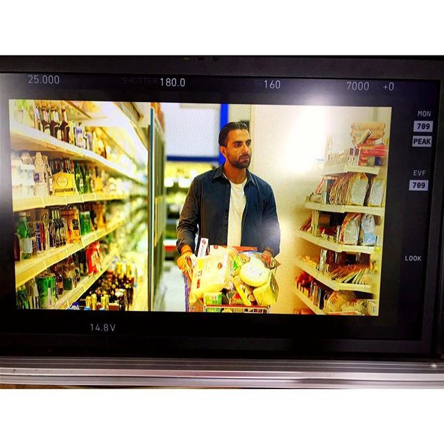 I've been Spotted! ..... shooting  groceryshopping  lebanon  beirut ...