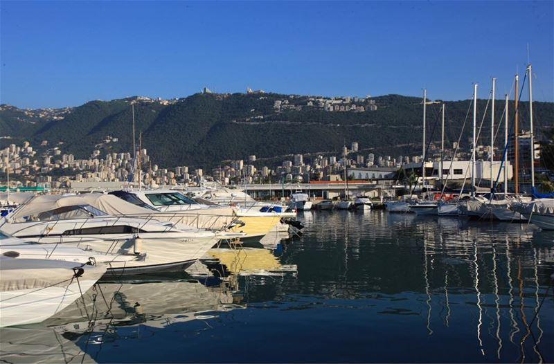 Beautiful lebanon jounieh bay jouniehbay sea yacht yachting club ...