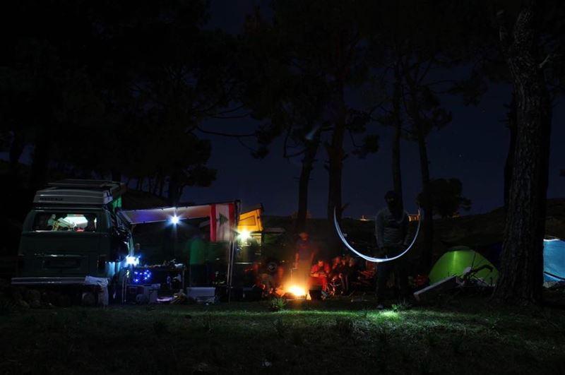 """It's a never ending journey called """"camping"""" 🌌📸: @samersss12 ....... (Bqaatoûta, Mont-Liban, Lebanon)"""