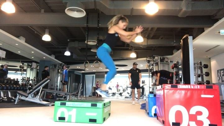 boxwork , learning how to jump and land is important, and boxjumps... (Dubai, United Arab Emirates)