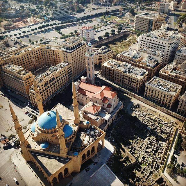 B E I R UT 🇱🇧⛪🕌By @nagsm DowntownBeirut BeirutDowntown Beirut ... (Downtown Beirut)