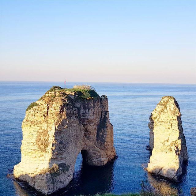 lebanon beirut raouché ... (Raouche Rock , Beirut , Lebanon)