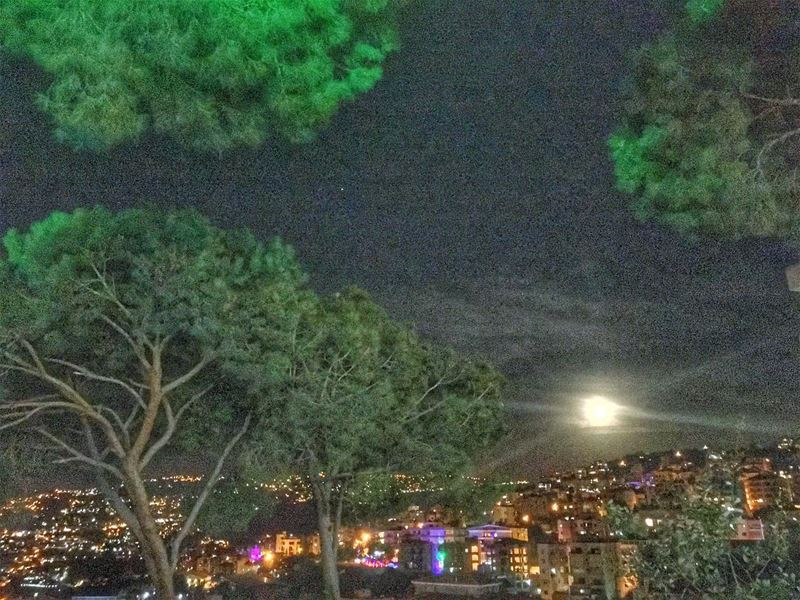 Make the biggest wish...___________________________________ fullmoon... (Mount Lebanon Governorate)