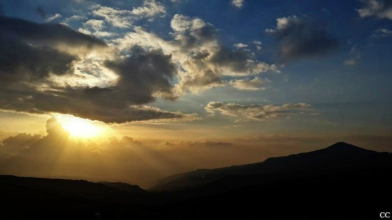 lebanon sunset sannine mountlebanon livelovelebanon sky sun clouds...