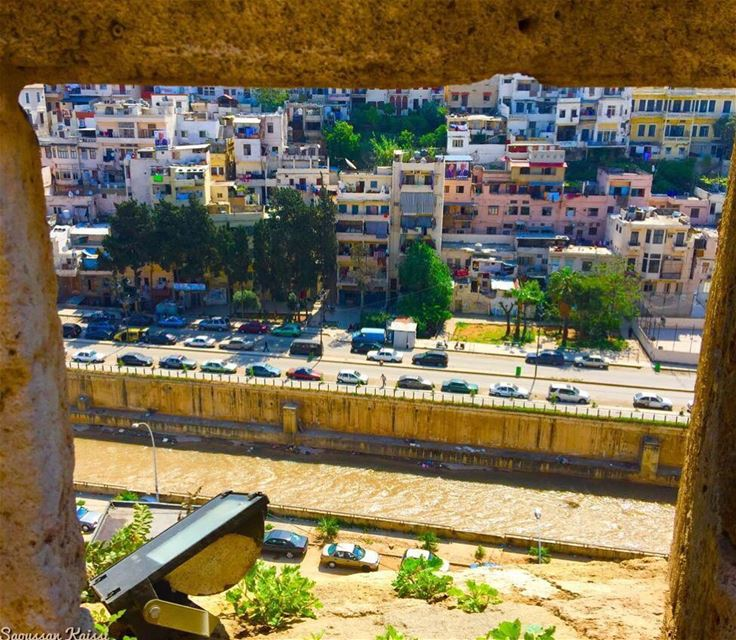 nostalgia oldcity tripoli lebanon river colors...