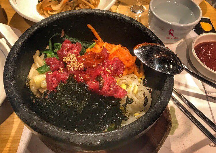 When in Korea you should have this Bibimpap dish 🇰🇷 .=================== (Seoul, South Korea)
