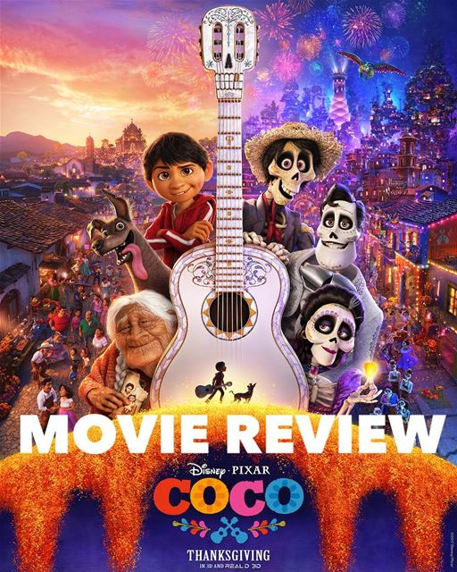• English version •Coco Disney's animated holiday movie is out in cinemas...