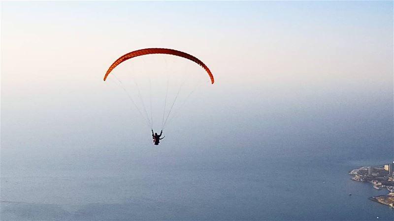 paragliding lebanon jounieh ... (Ghosta, Mont-Liban, Lebanon)