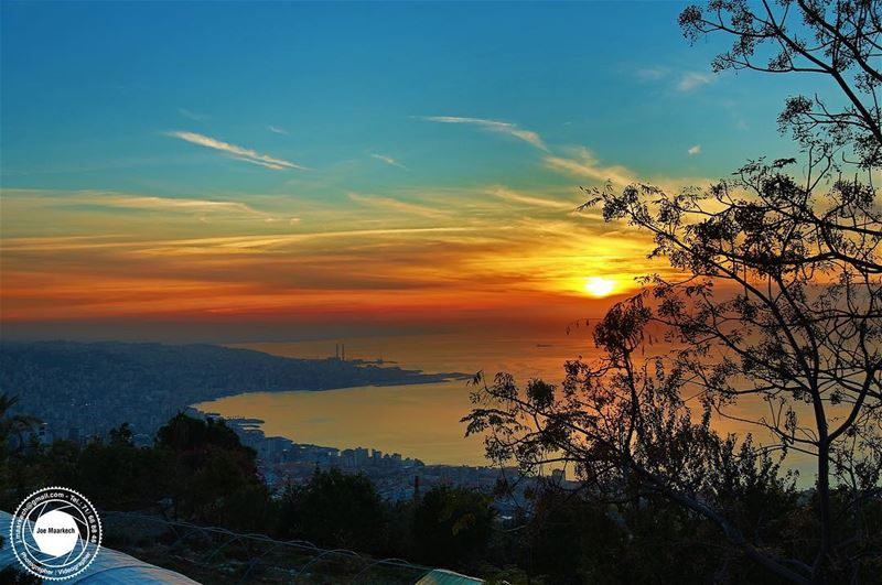 I hope that you like the sunset because I ordered it especially for you...... (Ghazir, Mont-Liban, Lebanon)