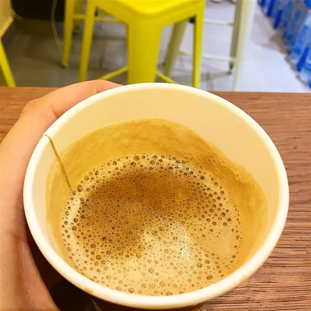 I'm addicted to you ☕️🤤. coffee food eat yummy nomnom foodie foodporn... (Beirut, Lebanon)