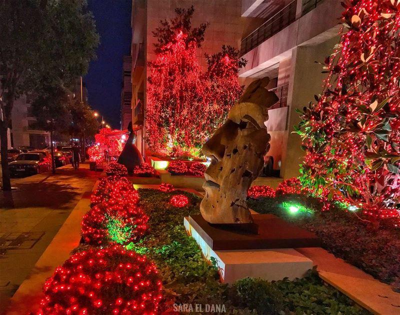 It's starting to feel a lot like Christmas! ❤️🎄❤️ (Beirut, Lebanon)