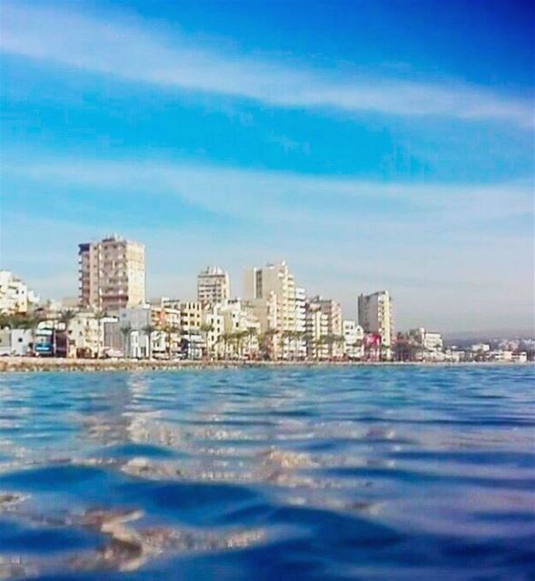 Tyre 💙 tyre livelovelebanon lebanon landscape like4like followme ... (صور - مدينة الأبجدية)