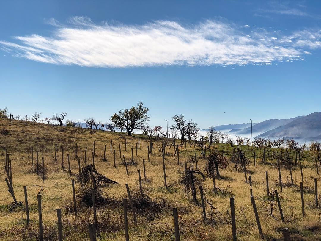 West Bekaa nature colors surreal landscape mountains skies ...