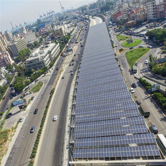 Green energy river ... we need it 🍀☘🍀By @joe.sokhn Beirut Liban ... (Beirut, Lebanon)