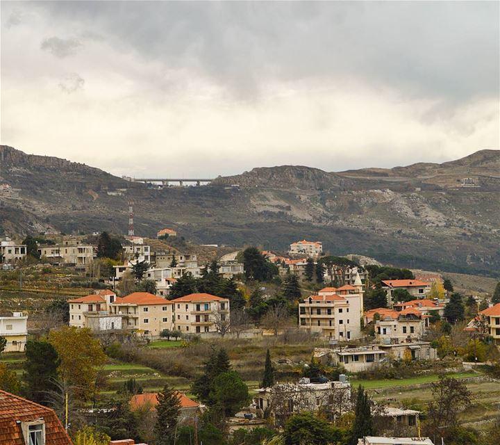 rainydays mountainsoflebanon village roadtrip discoverplaces ... (Lebanon)