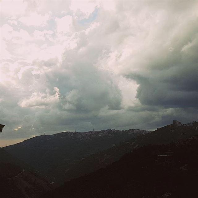 Hail storm clouds time lapse video mybrummana clouds lebanonspotlights... (Brummana)