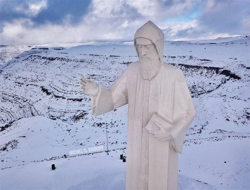 Mar Charbel Faraya 🙏... AboveLebanon Lebanon LiveLoveBeirut ...
