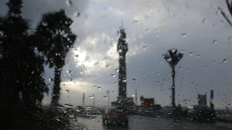 Rain on Beirut Lighthouse... lebanon lebanontimes lebanon_hdr ... (Beirut, Lebanon)