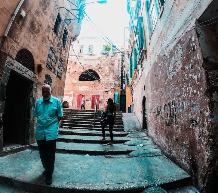 Tripoli's streets 👣💛🏘....... gopro goproheroblack6 goprohero6... (Tripoli, Lebanon)