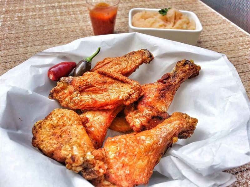 Buffalo Chicken Wings is your second option at Em's today. Give us a call ☎ (Em's cuisine)