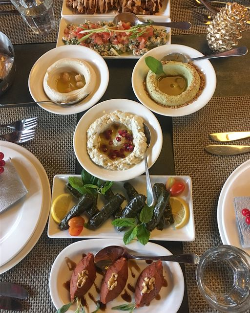 About today's lunch at @boumelhemrestaurant ❤️Special thanks to @bridgeofm (Bou Melhem)