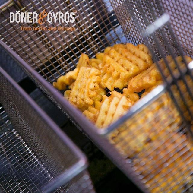 Repost @donerandgyrosleb・・・Set them free..  wafflefries will never hurt... (Doner & Gyros Lebanon)