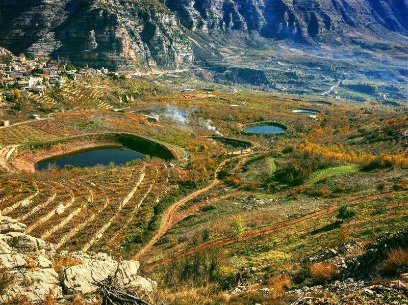 Nature is the art of God 🌳🍃....... liveoutdoors adventurer ... (Akoura, Mont-Liban, Lebanon)