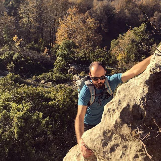 Climbing out of the week be like 🧗♂️ (`Akkar, Liban-Nord, Lebanon)