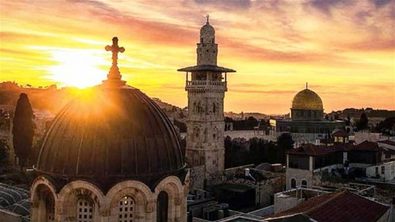 My Beautiful Jerusalem! How many sins are they committing under ur name!... (Lebanon)