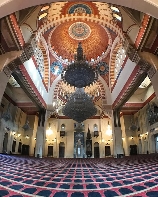 Have blessed and wonderful Friday!-Mohammad Al-Amin mosque also know as... (Beirut, Lebanon)
