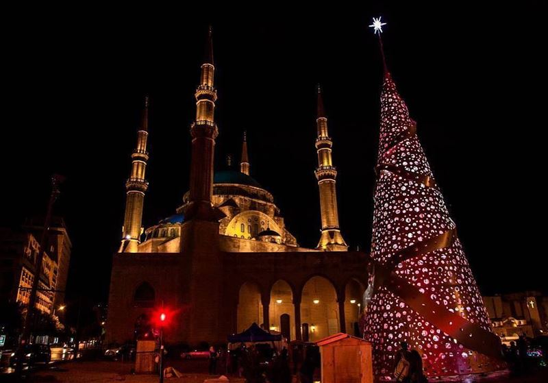 christmas lebanon religion union christmastree by @daminoindianos ... (Beirut, Lebanon)
