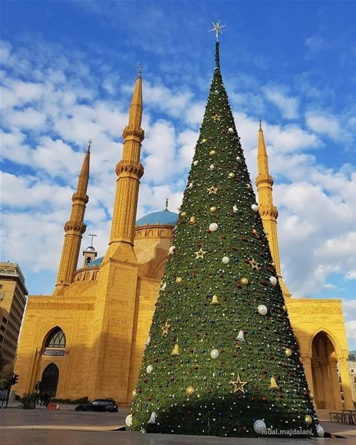 How proud I am with our Beirut, a role model for the whole world to learn... (Downtown Beirut)