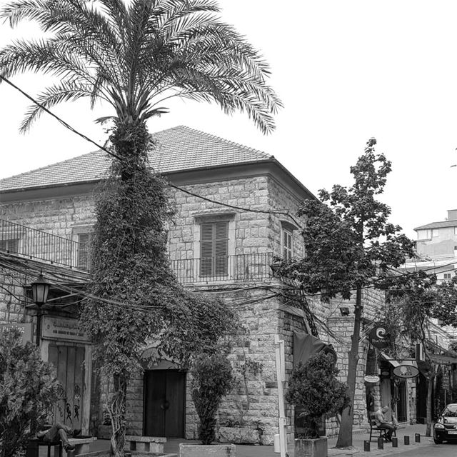 Day 7 of the Black & White challenge. Post 7 pictures of your life. ...... (جونية - Jounieh)