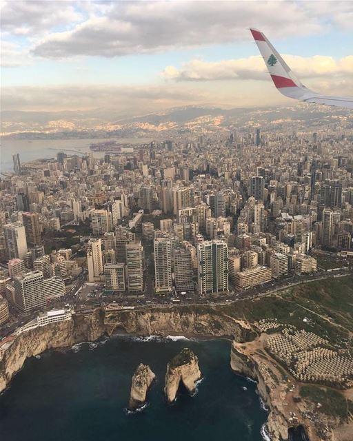 Above BEIRUT 🇱🇧 ♥️By @ya23ya AboveBeirut Beirut Liban Libano ... (Beirut, Lebanon)