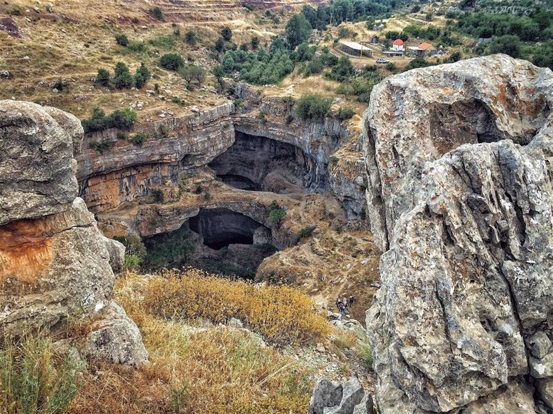The cave you fear to enter holds the treasure you seek.............. (Baatâra, Mont-Liban, Lebanon)