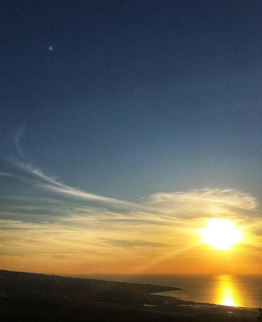 lebanon sky eye sun sunset nature instagood instagram instadaily ...