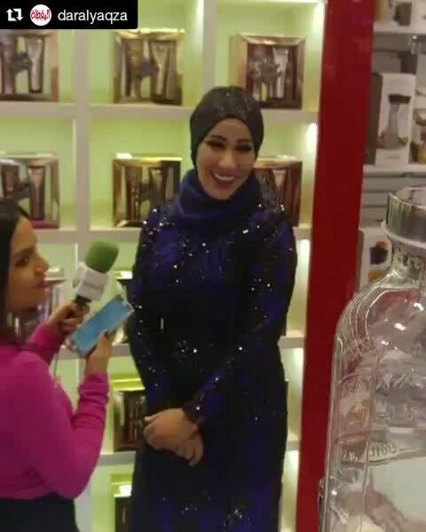 Repost @daralyaqza (@get_repost)・・・نجمة ذافويس نداء_شرارة تحتفل باطلاق