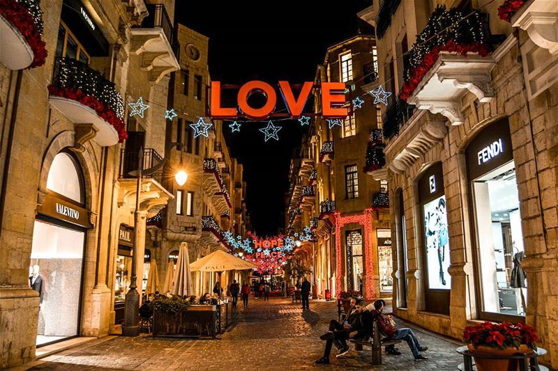 The beautiful nights of Downtown, Beirut! livelovebeirut . Good evening... (Beirut, Lebanon)