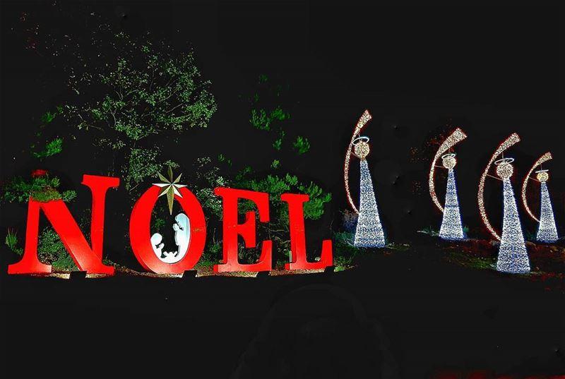 Believe in the magic of Christmas 😇💫 .... joyeuxnöel joie amour ... (Bikfaïya, Mont-Liban, Lebanon)