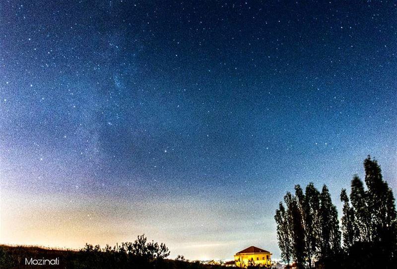 milkywaychasers milkyway astronomy astronaut stars star insta_lebanon... (Hoûmîne El Faouqa, Al Janub, Lebanon)