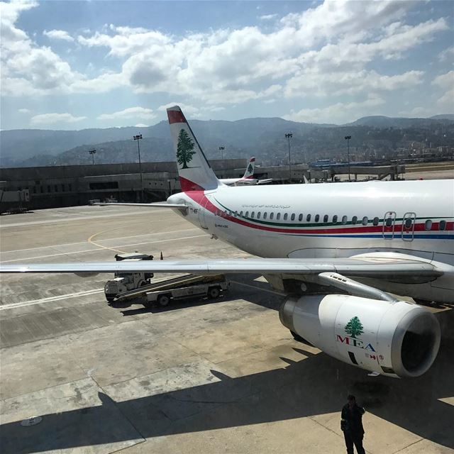 See you soon. lebanon dubai flying airport zahle work meeting event uae... (Beirut–Rafic Hariri International Airport)