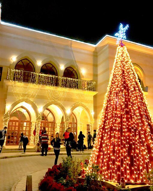 Christmas spirit at the Lebanese Embassy - Qatar 🎄❄️🌺🎁⛄️🎅🏻🇶🇦🇱🇧 ... (Doha)