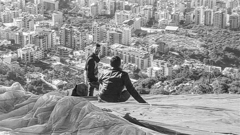 lebanon ghosta paragliding ... (Ghosta, Mont-Liban, Lebanon)