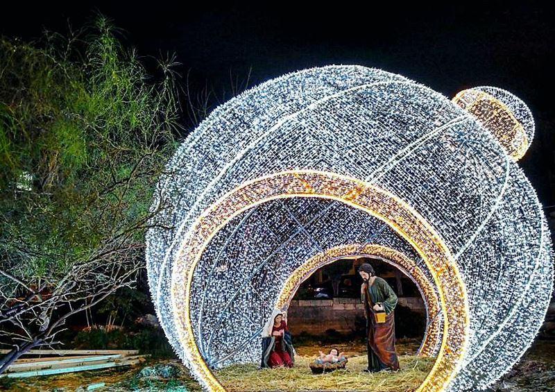 💫🙏❤💫 holy manger Christ holyfamily kingofkings christmas ... (Beït Ech Chaar, Mont-Liban, Lebanon)