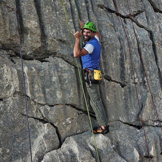 It's all about enjoying the climb..... FLYINGFROG FLYINGFROGCO ... (El Laklouk, Mont-Liban, Lebanon)