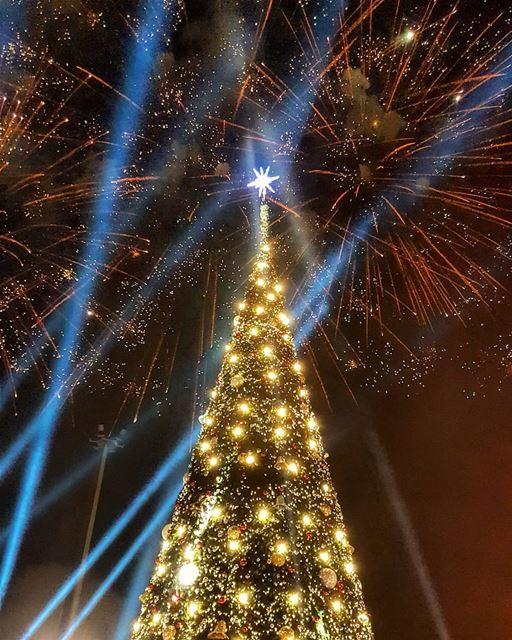 christmas2018 christmastree christmas christmasseasons downtownbeirut... (Downtown Beirut)