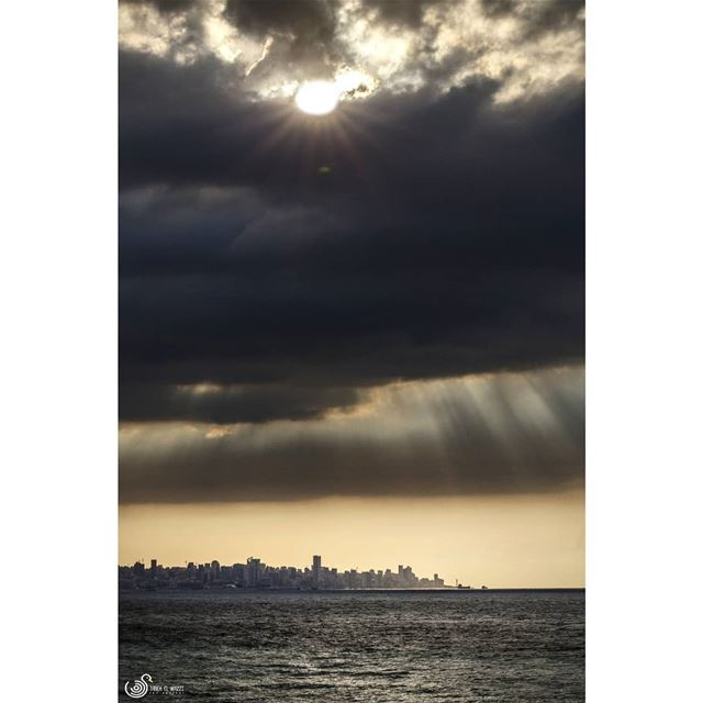 A sunset some weekends ago sunset dbaye lebanon canon6d ... (Dbayeh, Mont-Liban, Lebanon)